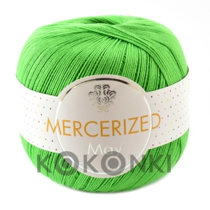 Kordonek Mercerized May Mini Crochet - 005 kiwi