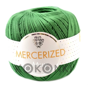 Kordonek Mercerized May Mini Crochet - 431 zielony