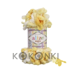 Włóczka Alize Puffy Color - 5921