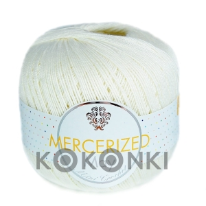 Kordonek Mercerized May Mini Crochet - 1152 ecru