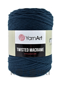 Sznurek YarnArt Twisted Macrame 4mm 784 / granat