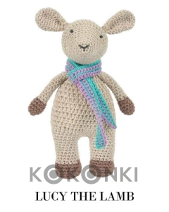 Zestaw do amigurumi Tuva  Lucy the Lamb