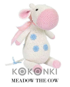Zestaw do amigurumi Tuva Meadow the Cow