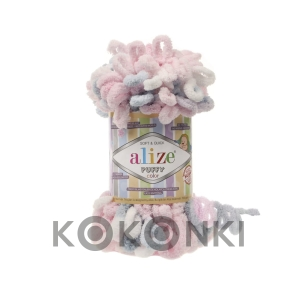Włóczka Alize Puffy Color - 5864
