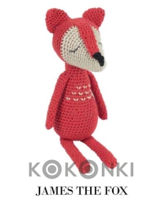 Zestaw do amigurumi Tuva James the Fox