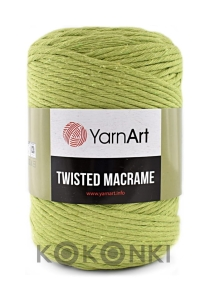 Sznurek YarnArt Twisted Macrame 4mm 755 / groszek