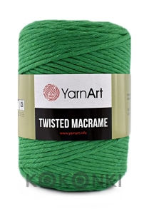 Sznurek YarnArt Twisted Macrame 4mm 759 / absynt