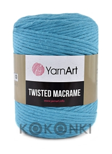 Sznurek YarnArt Twisted Macrame 4mm 786 / jasny atrament
