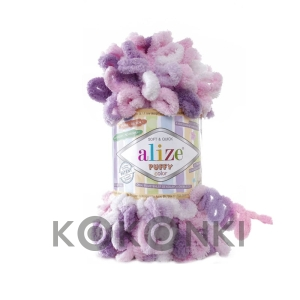 Włóczka Alize Puffy Color - 6077