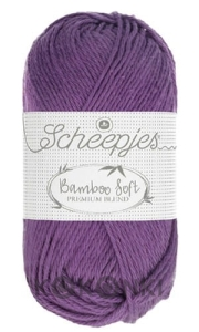 Włóczka Scheepjes Bamboo Soft - 252 Royal Purple / cyklamen
