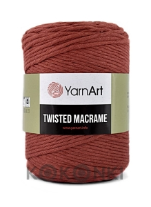 Sznurek YarnArt Twisted Macrame 4mm 785 / cegła