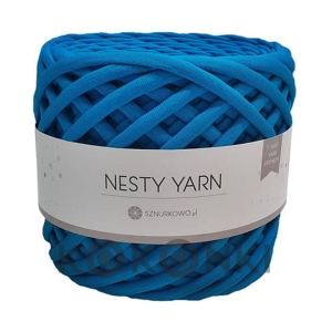 T-shirt Nesty Yarn Premium - ciemny turkus