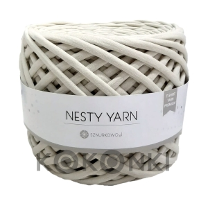 T-shirt Nesty Yarn Premium - hummus