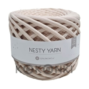 T-shirt Nesty Yarn Premium - nude