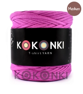T-shirt Yarn by KOKONKI - wrzos / rozmiar Medium