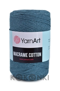 Sznurek YarnArt Macrame Cotton 761 / denim