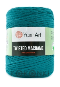 Sznurek YarnArt Twisted Macrame 4mm 789 / petrol