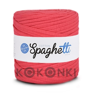 T-shirt Yarn Cotton Spaghetti / malinowy róż