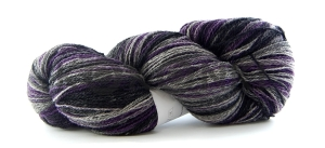 Artistic yarn 8/2 - Black lila