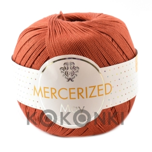 Kordonek Mercerized May Mini Crochet - 383 cegła