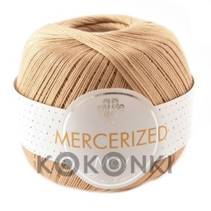 Kordonek Mercerized May Mini Crochet - 150 ciepły beż