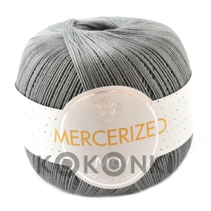 Kordonek Mercerized May Mini Crochet - 225 szary