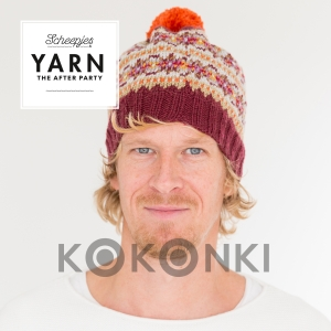 Wzór druty - Autumn Colours Bobble Hat