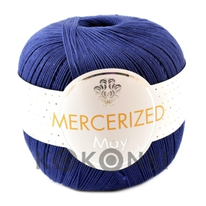 Kordonek Mercerized May Mini Crochet - 253 granatowy