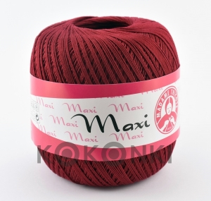 Kordonek Madame Tricote Paris Maxi 5522 bordo
