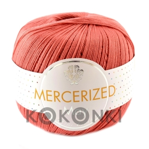 Kordonek Mercerized May Mini Crochet - 003 koral