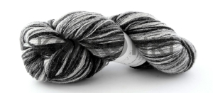 Artistic yarn 8/2 - Black white