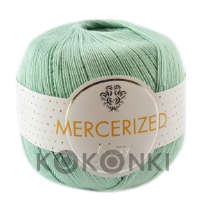 Kordonek Mercerized May Mini Crochet - 412 mięta
