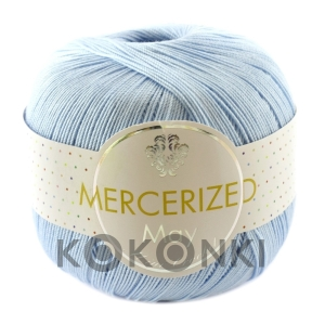 Kordonek Mercerized May Mini Crochet - 303 błękit