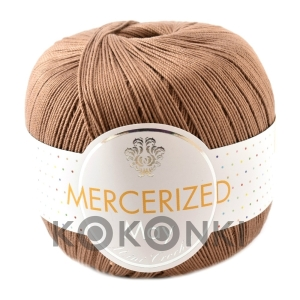 Kordonek Mercerized May Mini Crochet - 491 brąz